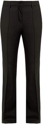 Etro Veronica stretch-wool flared trousers