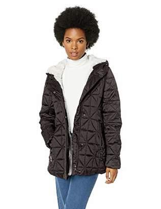 Steve Madden Women's Glacier Shield Parka Jacket, L