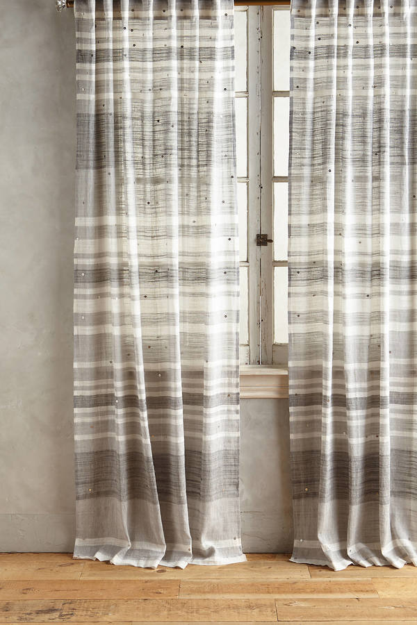 Anthropologie Anthropologie Cabana Sequined Curtain