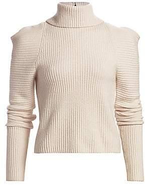 A.L.C. Women's Maura Puff-Sleeve Turtleneck Sweater