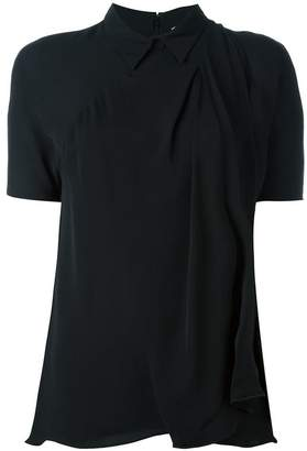 3.1 Phillip Lim shortsleeved draped top