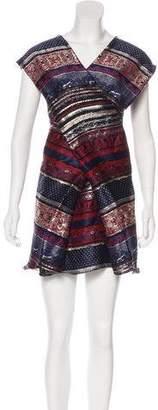 Kenzo Jacquard Knee-Length Dress w/ Tags