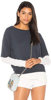 Nation Ltd. West Lake Layered Sweatshirt