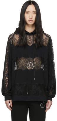 McQ Black Lace Hoodie