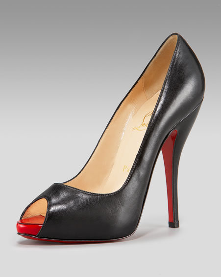 Christian Louboutin Peep-Toe Pump