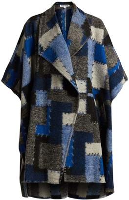 Elizabeth and James Pinchot patchwork wool cape
