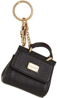 Dolce & Gabbana Mini Sicily Handbag Keyring