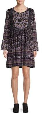 Style&Co. Style & Co. Floral Print Peasant Dress