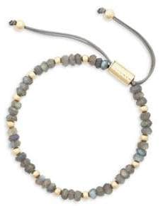 Sole Society Goldtone & Labradorite Slider Bracelet