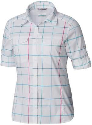 Columbia Silver Ridge Lite Plaid Button-Down Shirt