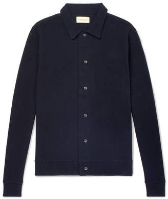 Oliver Spencer Rundell Slim-Fit Textured Cotton-Jersey Jacket
