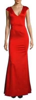 Zac Posen V-Neck Bodycon Fit Dress