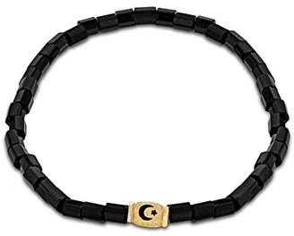 Luis Morais 14ct Yellow Gold Mini Moon Star Bracelet