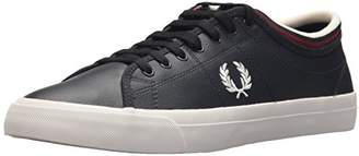 Fred Perry Kendrick Tipped Cuff Leather Sneaker