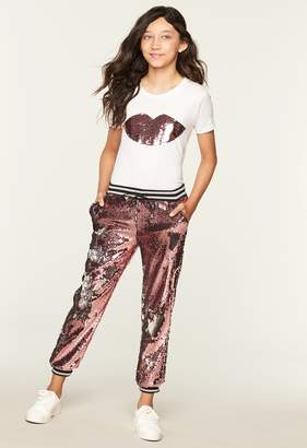 Milly Minis MillyMilly Sequin Jogger Pant
