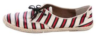 Tabitha Simmons Canvas Espadrille Sneakers