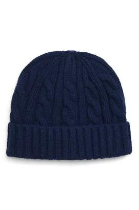 J.Crew Lambswool Cable Knit Beanie