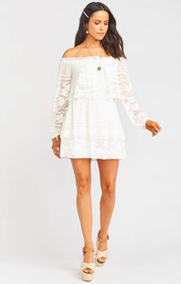 Show Me Your Mumu Bess Dress ~ Moonlight Roses Lace Cream