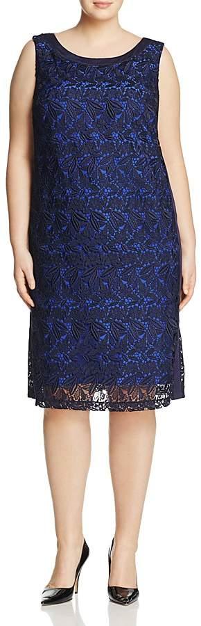 Marina Rinaldi Desideri Macramé Lace Dress