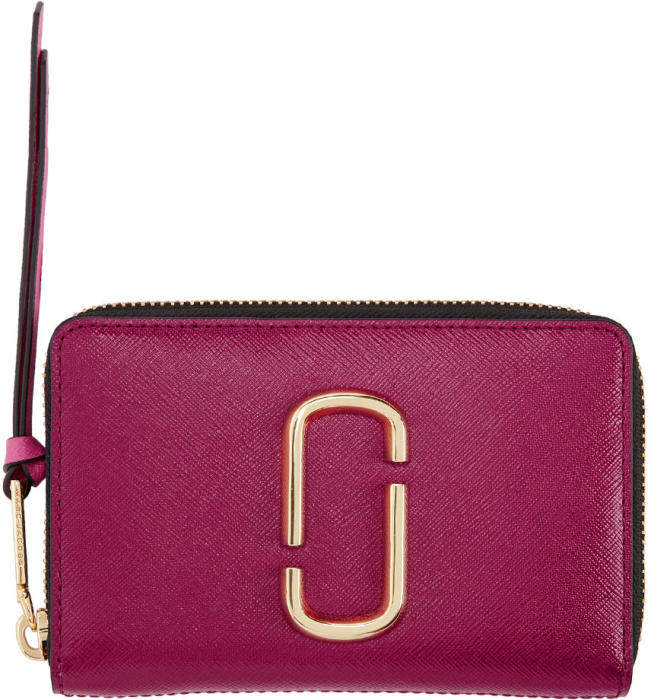 Marc Jacobs Pink Small Snapshot Wallet