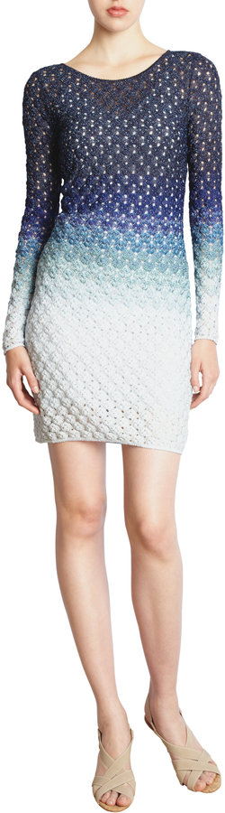 Missoni Ombre Long Sleeve Dress