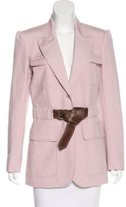 Barbara Bui Belted Peak-Lapel Blazer w/ Tags