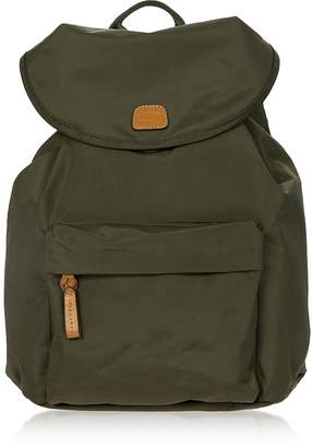 Bric's X-Travel Olive Nylon Backpack