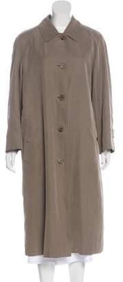 Burberry Wool Long Coat