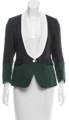 Band Of Outsiders Colorblock Structured Blazer
