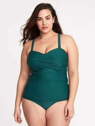 Old Navy Underwire Plus-Size Tankini Top