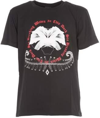Marcelo Burlon County of Milan White Flower T-shirt