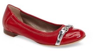 Women's Agl Cap Toe Ballet Flat $298 thestylecure.com