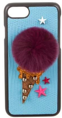 Dolce & Gabbana Ice Cream iPhone 7 Case Blue Ice Cream iPhone 7 Case
