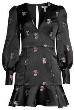 Joie Minia Woven Jacquard Mini Dress