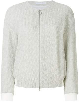 Fabiana Filippi slim fit zipped jacket