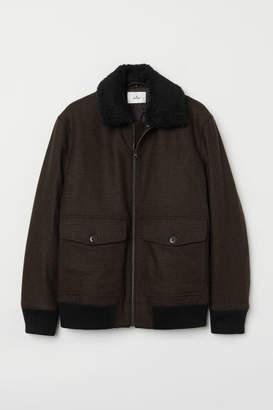 H&M Bomber Jacket - Brown