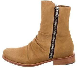 Amiri Suede Stack Boots w/ Tags