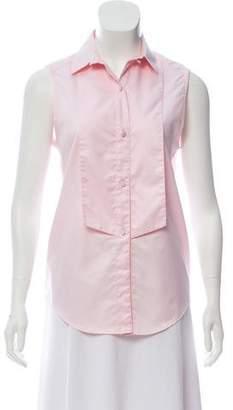 Pallas Sleeveless Button-Up Top