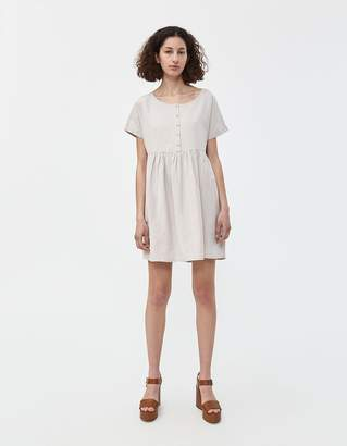 Sacha Stelen Babydoll Dress in Natural