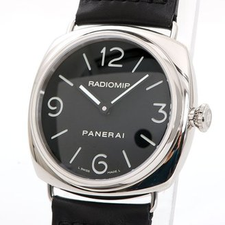 Panerai [パネライ ラジオミール 腕時計 ウォッチ ステンレススチール(SS)xレザーベルト PAM00210 [中古]