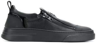 Bruno Bordese logo slip-on sneakers