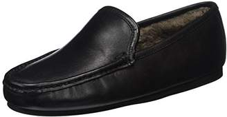 Fortuna Men's Jack Ago Warm Lined Slippers Black Size: 6