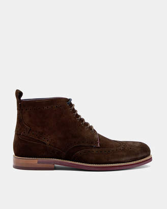 Ted Baker SHENNJO Brogue suede ankle boots