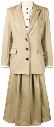 DAY Birger et Mikkelsen Walk Of Shame layered jacket dress