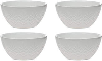 Godinger Dublin White 4-Pc. Bowl Set