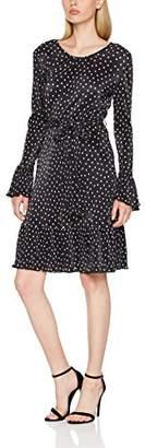 Yumi Women's Spot Crinkled Dress,8