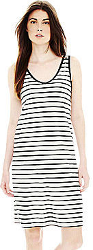 Joe Fresh Sleeveless Striped Dress