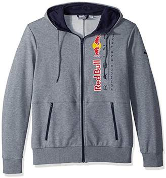 Puma Men's Red Bull Racing Logo Hooded Sweat Jacket