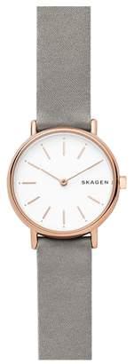 Skagen Signatur Slim Satin Strap Watch, 30mm