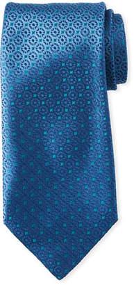 Charvet Micro-Medallions Silk Tie